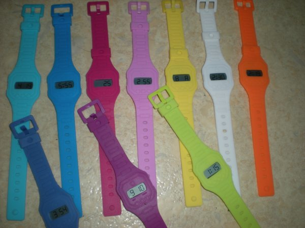 Montre Color Watch : 5¤