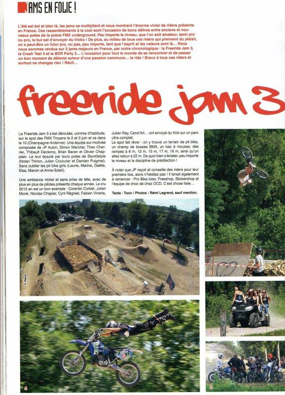 Motocross Freestyle - Aout/Septembre 2012 (FRJ 3)