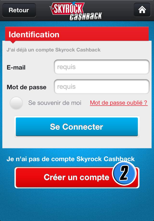 [align=center]Comment créer mon compte Skyrock Cashback ?[/align]