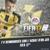 Chope 7¤ sur l'achat du jeu FIFA 17 via l'appli Skyrock Cashback !