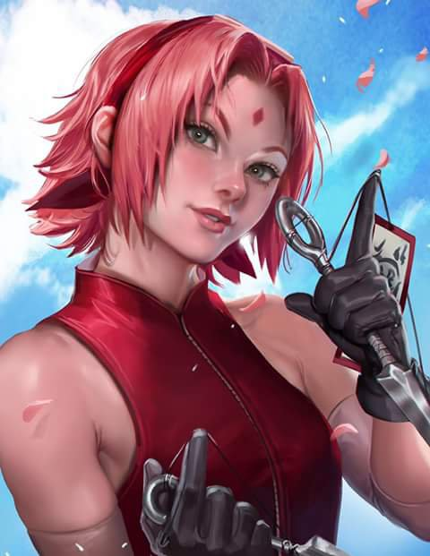 Fan art sakura ;-) *^*
