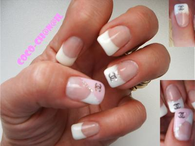 deco ongles chanel