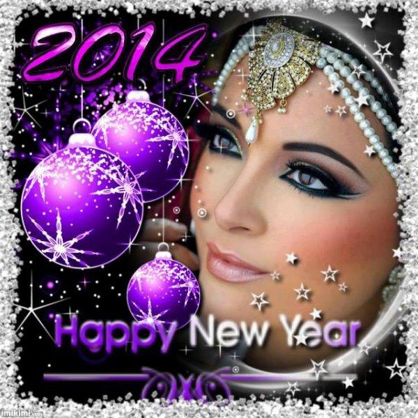 je vous souhaite une magnifique Année 2014! Ke celle ci soit pleine de joies, de bonheur et d'A mour pour chacun d'entre nous! Ke nos voeux soient réalisables!!! bisous a tous et a toutes!!!