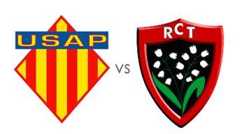 USAP toulon quart de finale de coupe d europe samedi 9 avril a 16h30 a barcelone