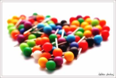 Un coeur en bonbons ♥