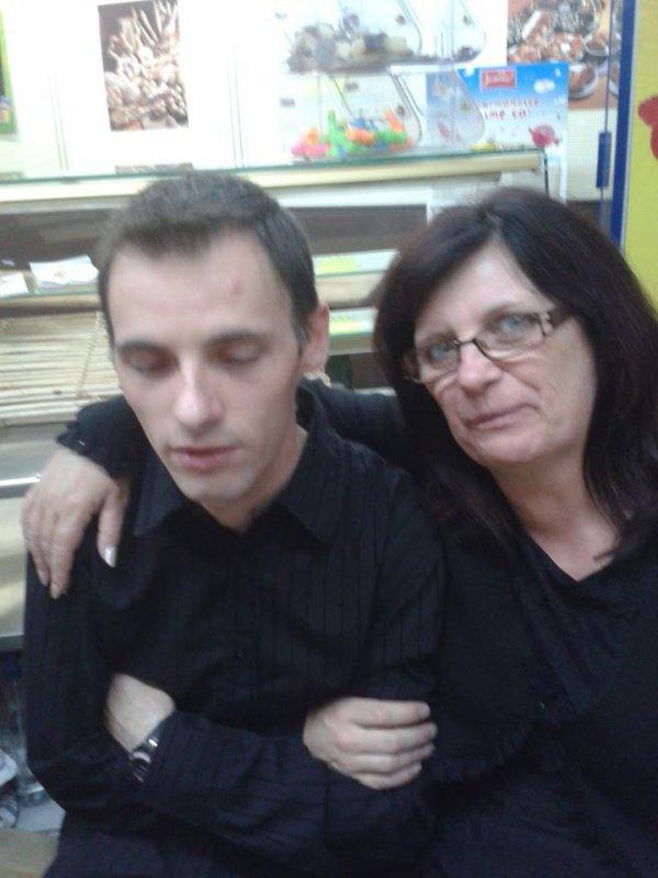 mon fils  gerard  et  moi
