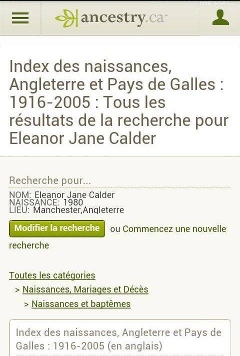 Analyse sur la famille Calder en particulier sur « eleanor »