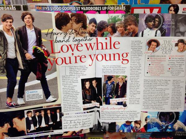 "Larry Drama : "" That's photoshoped "" + magasine - Analyse"
