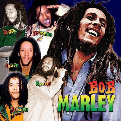 bob marley et ses 5 fils