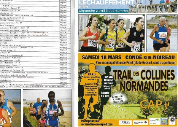 Un beau calendrier 2017 des courses hors stade et retour sur le Normandie de cross