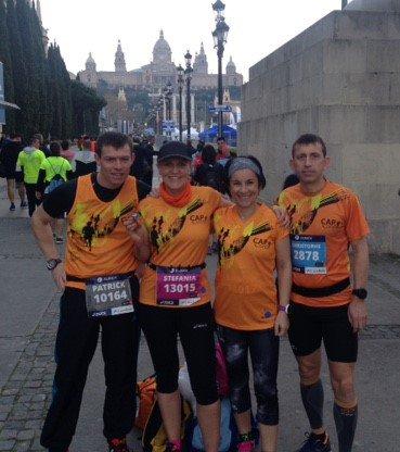 résultats du we : Barcelone, Trail de la CUC  et La Forêt Auvray