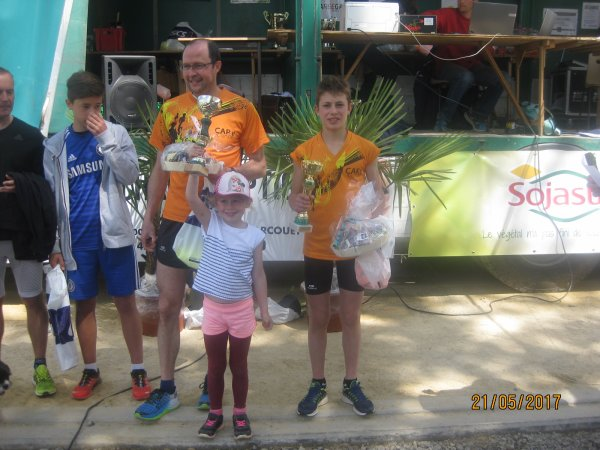 des podiums aux trail de la Mine et flash-back...