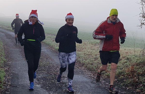 Cross du Neufbourg,Raid du Père Noël et jogging de Noël..