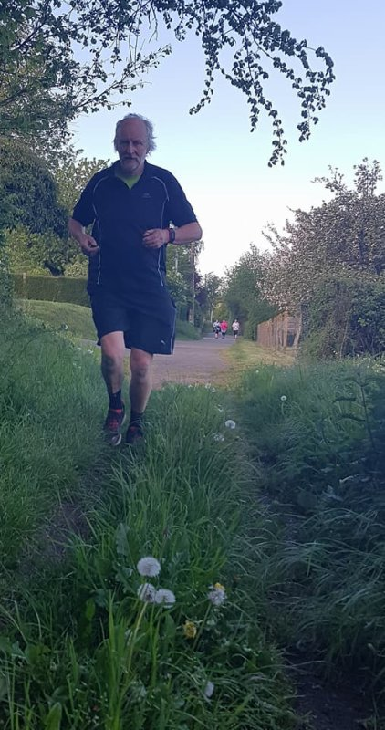 Dernier running de David ...avant mission Bretonne ! & belle présence à la course des criquets