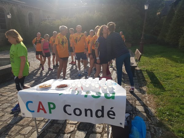 Les  capiens et  l'histoire Condéenne : un merveilleux jogging du patrimone : MERCI