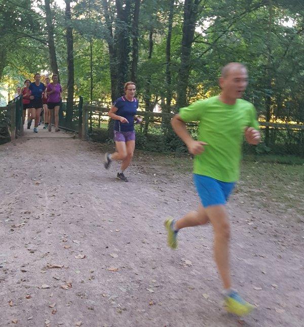 trail et seuil au parc : merci Jérôme !