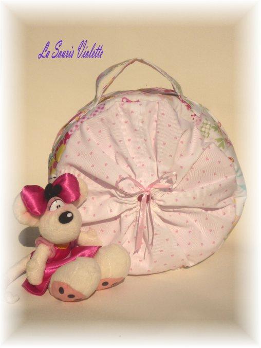 Vanity bébé...ou mini sac a langer