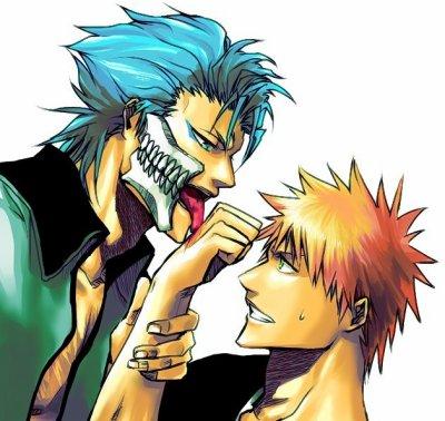 「Bleach」- Ichigo X Grimmjow 3
