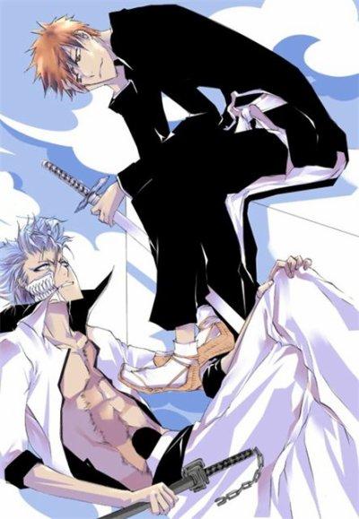 「Bleach」- Ichigo X Grimmjow 7