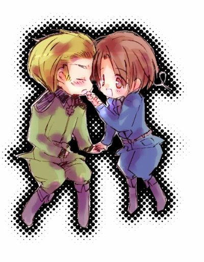「Axis Power Hetalia」- Germany X Northern Italy