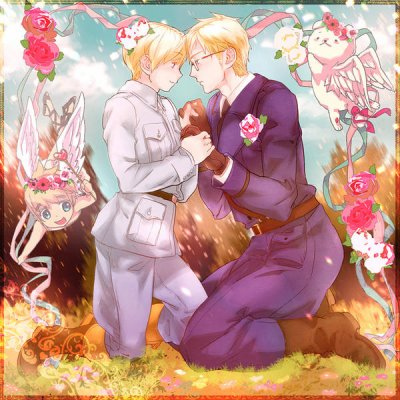 「Axis Power Hetalia」- Finland X Sweden