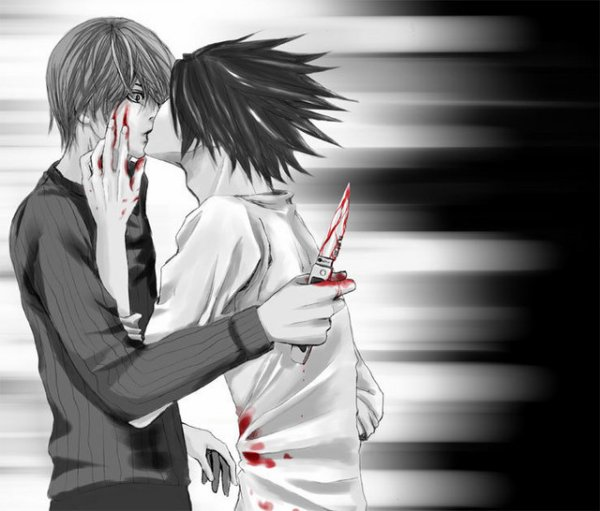 「Death Note」- L X Light 3