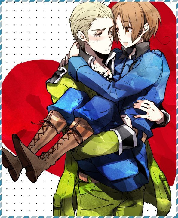 「Axis Power Hetalia」- Germany X Northern Italy 3