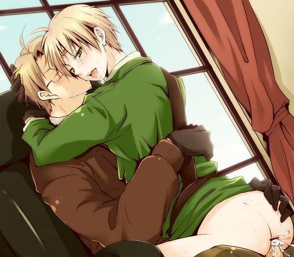 「Axis Power Hetalia」- UK X USA 3
