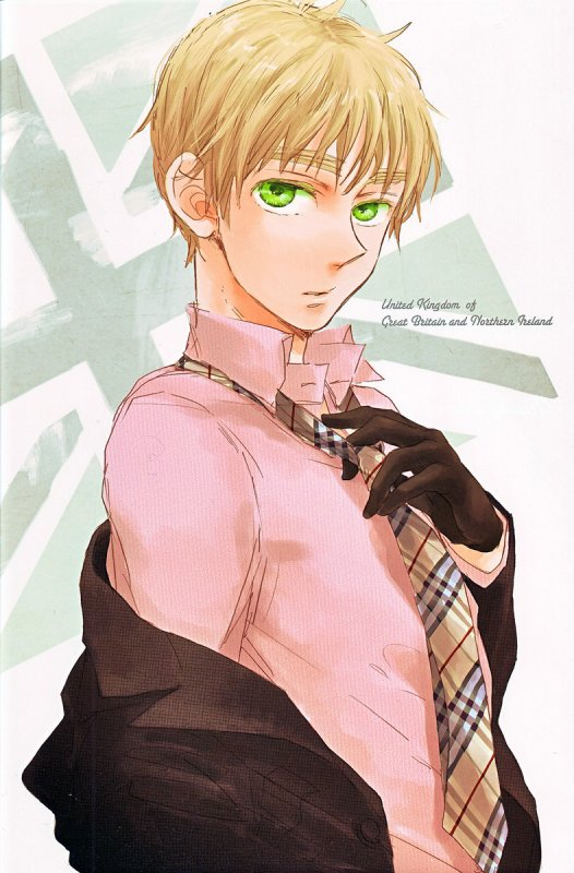 「Axis Power Hetalia」- UK (SOLO)
