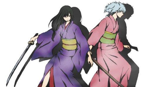 「Gintama」- Paako (Gintoki) X Zurako (Katsura)