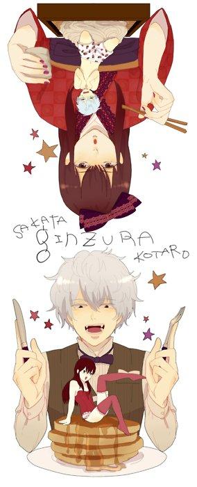 「Gintama」- Gintoki X Zurako (Katsura)