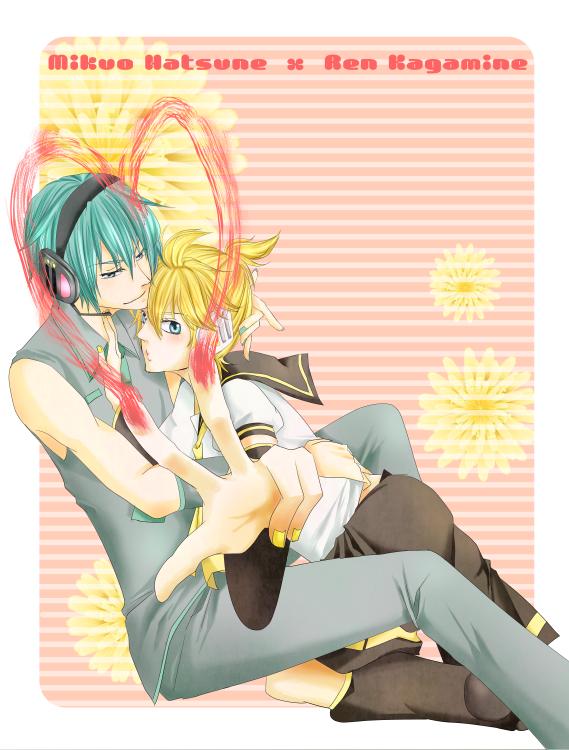 「Vocaloid」- Len X Mikuo
