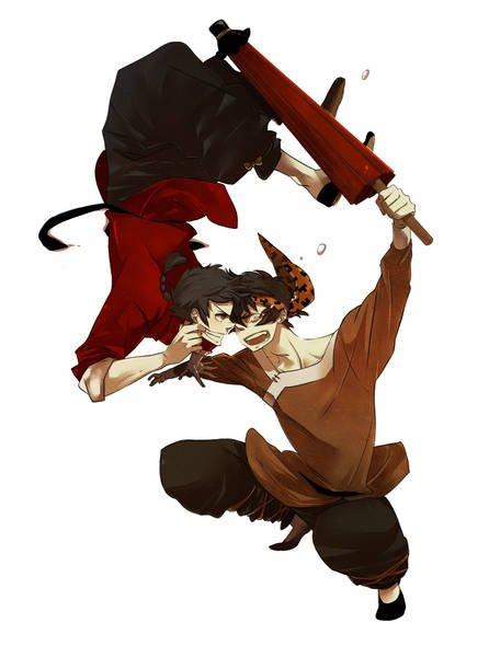 「Ranma ½」- Ranma X Ryoga