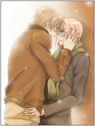 「Axis Power Hetalia」- UK X USA 4