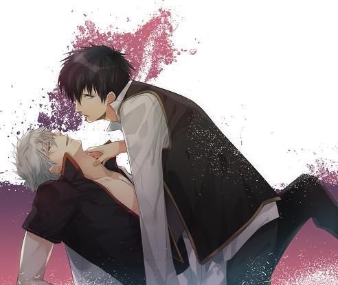 「Gintama」- Gintoki X Hijikata 2