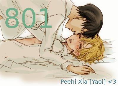 Yaoi manga de Peehi-Xia & Naboyuki