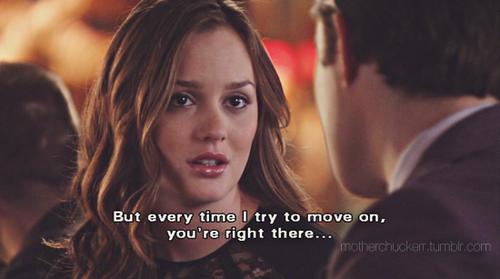 C'est toi qui a raison, je dois aller de l'avant.