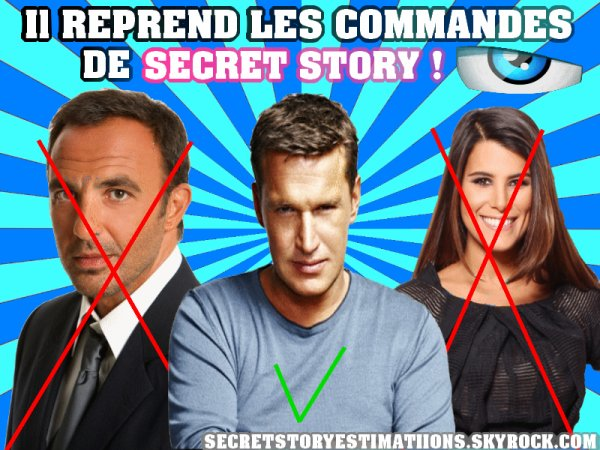 EXCLUE : Benjamin présentera finalement Secret Story 8 !