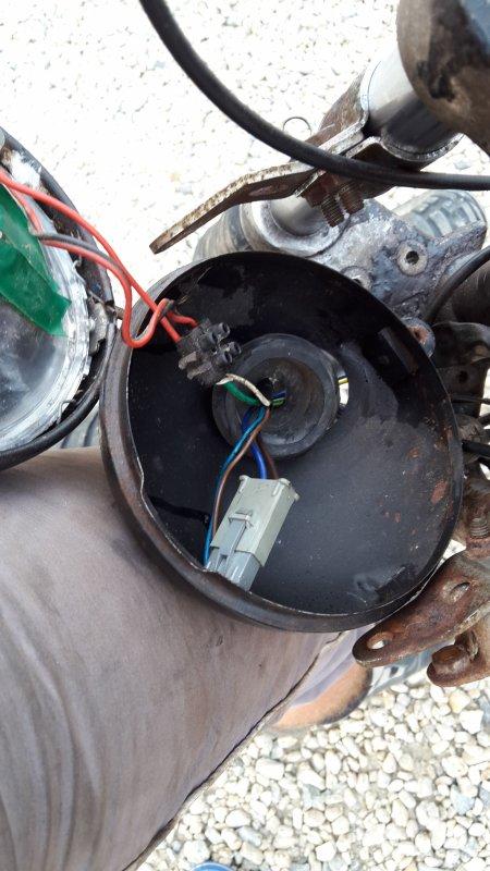 Etat pitoyable du circuit électrique