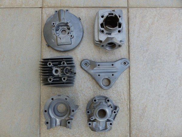 Retour sablage pièces moteur 103 SPX