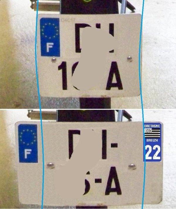 Une pétition pour le retour des plaques au format 14x12