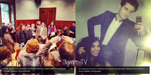 Photo Instagram   Olympe-TV