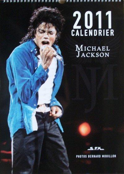 voici le calendrier de michael  jackson