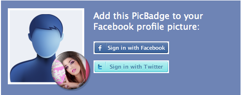 picbadge on facebook