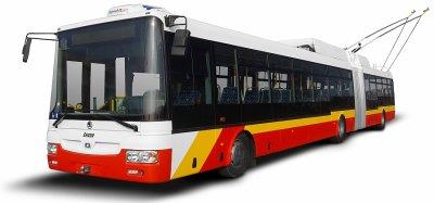 Les 11 premiers trolleybus livrés à Hradec Králové (Tchéquie)
