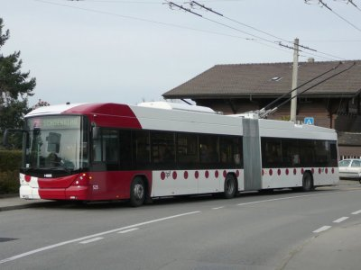 Électrification et livraison au complet à Fribourg (Suisse)