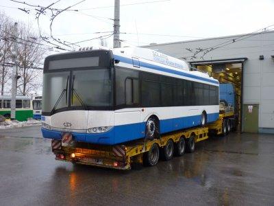 Les 6 derniers Trollino livrés à Gdynia (Pologne)