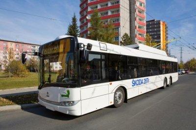 14 trolleybus supplémentaires pour Pardubice (Tchéquie)