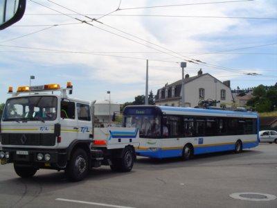 Limoges, appel d'offres pour 4 trolleybus minimun