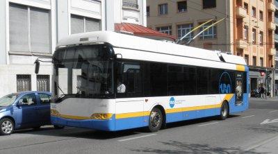 La fin des trolleybus à La Chaux-de-Fonds (Suisse)